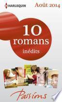 10 romans Passions inédits (no482 à 486 - août 2014)
