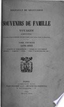 1175-1832. Champagne et Basse-Bourgogne. Bourbon et Saint-Domingue. Belgique. Allemagne. Russie. Suède. Grande-Bretagne, etc