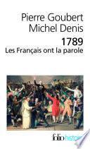 1789. Les Français ont la parole