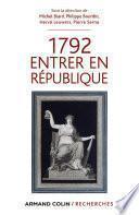 1792 Entrer en République