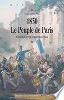 1830, le peuple de Paris