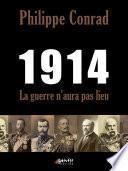 1914, la guerre n'aura pas lieu