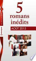 5 romans inédits Les Historiques (no677 à 681 - août 2015)