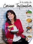 A la table de Carinne Teyssandier