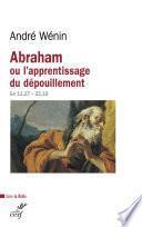 Abraham ou l'apprentissage du dépouillement