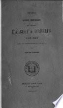 Abrégé historique du règne d'Albert & Isabelle 1592-1602, avec une intr. et des notes par A. Campan
