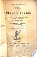 Actes de la captivité et de la mort des RR. PP. P. Olivaint, L. Ducoudray, J. Caubert, A. Clerc, A. de Bengy de la Compagnie de Jésus