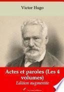 Actes et paroles (Les 4 volumes)
