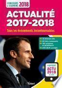 Actualité 2017-2018 - Concours et examens 2018