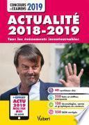 Actualité 2018-2019 - Concours et examens 2019 - Actu 2019 offerte en ligne