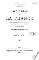 Administration de la France