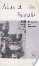 Afars et Somalis