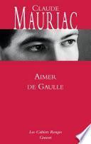 Aimer De Gaulle