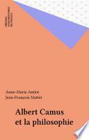 Albert Camus et la philosophie