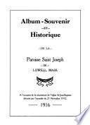 Album-souvenir et historique de la Paroisse Saint Joseph de Lowell, Mass