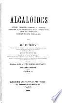 Alcaloïdes