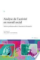 Analyse de l'activité en travail social