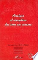 Analyse et réception des sons au cinéma
