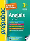 Anglais 1re toutes séries, LV1 & LV2 - Prépabac Cours & entraînement