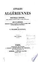 Annales Algériennes