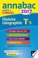 Annales Annabac 2017 Histoire-Géographie Tle S