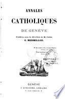 Annales catholiques de Genève