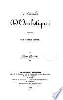Annales d'oculistique