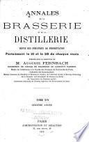 Annales de la brasserie et de la distillerie