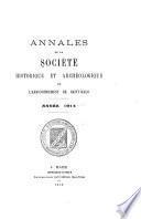 Annales de la Société d'histoire et d'archéologie de l'arrondissement de Saint-Malo