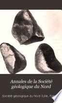 Annales de la Société géologique du Nord