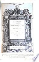Annales de la Société royale d'archéologie de Bruxelles