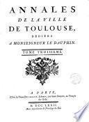 Annales de la Ville de Toulouse
