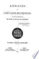 Annales de Saint-Louis-des-Français