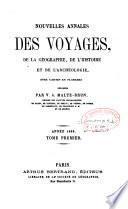 Annales des voyages, de la géographie, de l'histoire et de l'archéologie