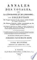 Annales des voyages, de la géographie et de l'histoire