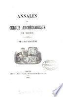 ANNALES DU CERCLE ARCHEOLOGIQUE