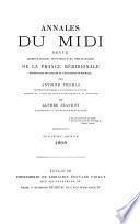 Annales du Midi