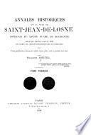 Annales historiques de la ville de Saint-Jean-de-Losne, Côte d'Or et ancien duché de Bourgogne
