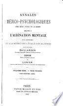 Annales medico-psychologiques