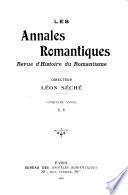 Annales romantiques