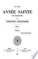 Année Sainte des religieuses de la Visitation Sainte Marie