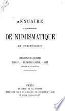 Annuaire de la Société française de numismatique et d 'archéologie