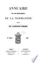 Annuaire des cinq départements de la Normandie