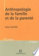 Anthropologie de la famille et de la parenté