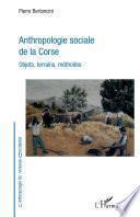 Anthropologie sociale de la Corse