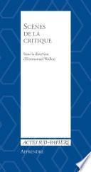 Apprendre 37 : Scènes de la critique