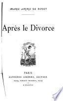Après le divorce