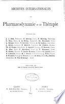 Arch Int Pharmacodyn Ther