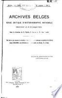 Archives belges