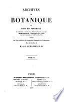 Archives de botanique